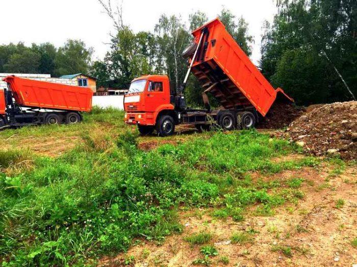Подготовка земельного участка