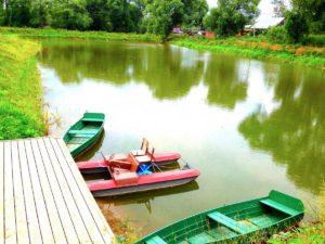 Копка пруда с благоустройством в Апрелевке (МО, Наро-Фоминский район)