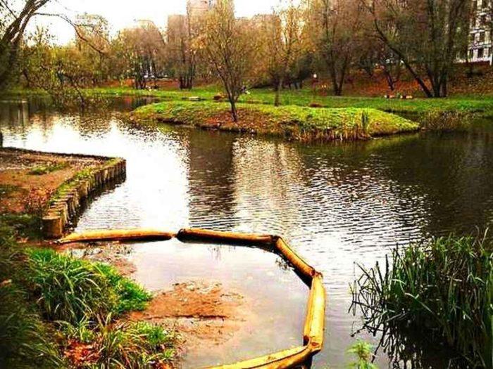Строительство Корнеевских прудов (Москва, Царицыно, ул. Бехтерева 37-41)