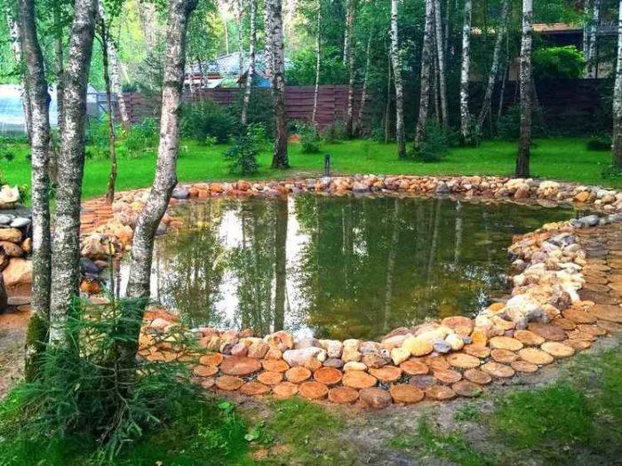 Строительство пруда. Одинцовский район (МО, д. Кобяково)