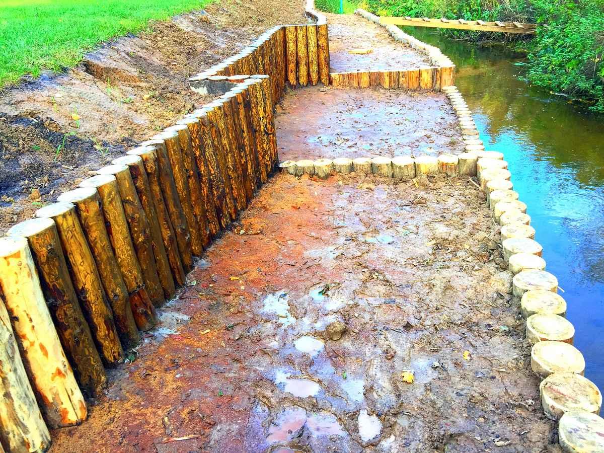 Как укрепить берег пруда или склон - обзор способов и советы