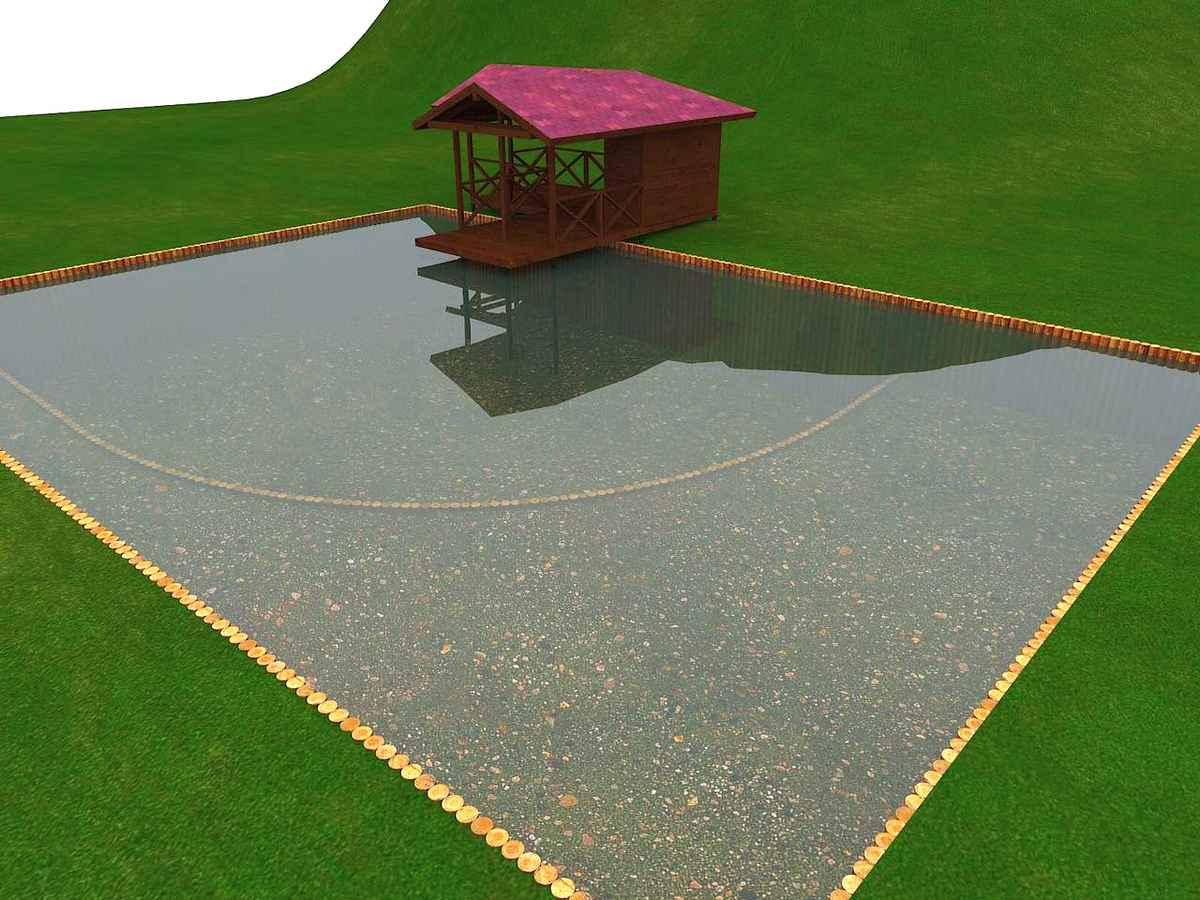 Проектирование водоемов