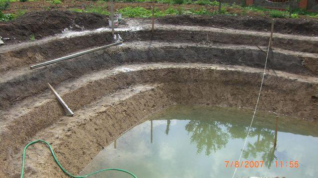 Гидроизоляция прудов и водоемов