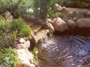 Строительство водопадов
