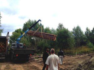 Реставрация, углубление и укрепление берега пруда в Новой Москве (д. Фоминское)