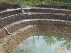 Строительство водоёмов