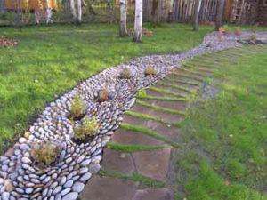 Строительство ручьёв