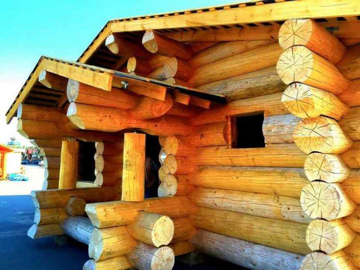 Благородный фасад: планкен, блок-хаус, «четверть» из лиственницы