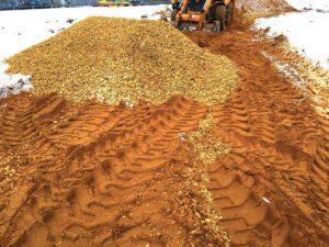 Подсыпка грунта в Румянцево (Новая Москва)